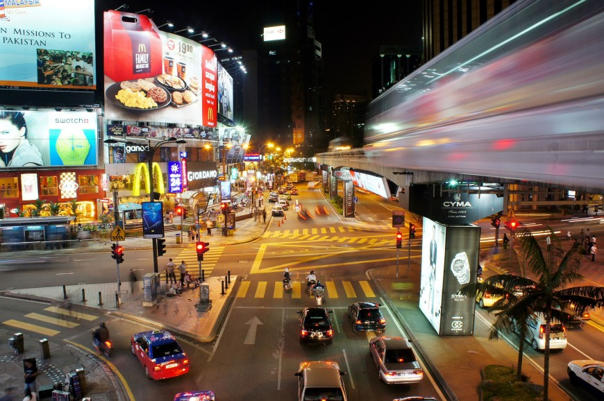شارع العرب كوالالمبور - بوكت بينتانج ماليزيا