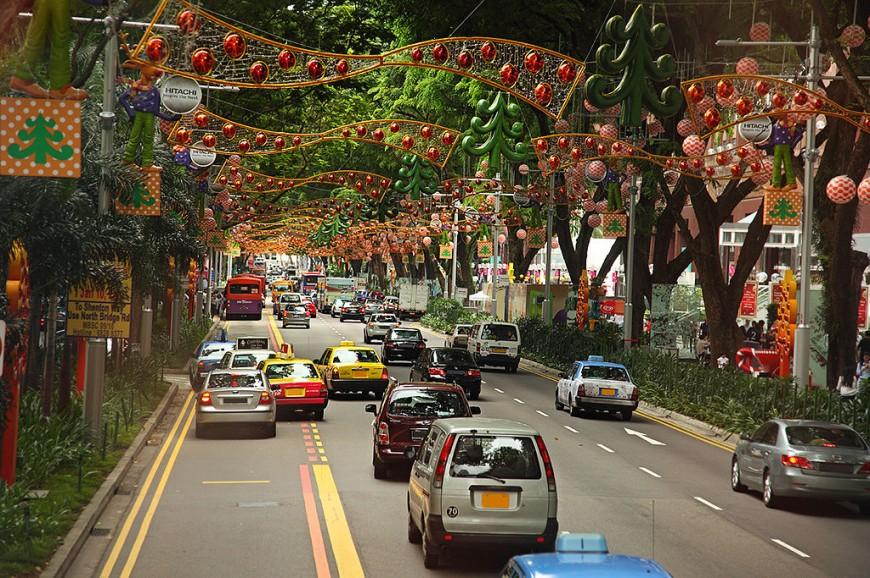 شارع أورتشارد سنغافورة, شارع البستان سنغافورة