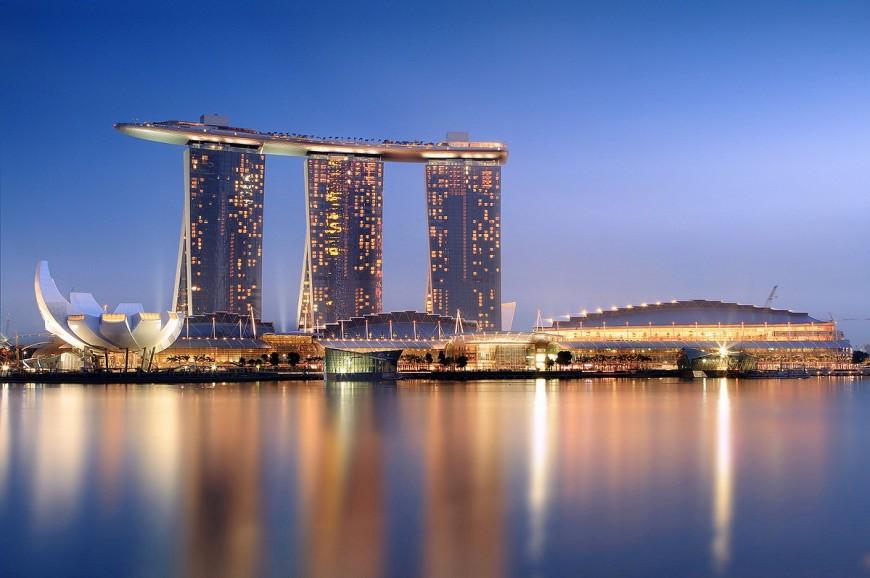 برج مارينا باي ساندز سنغافورة
