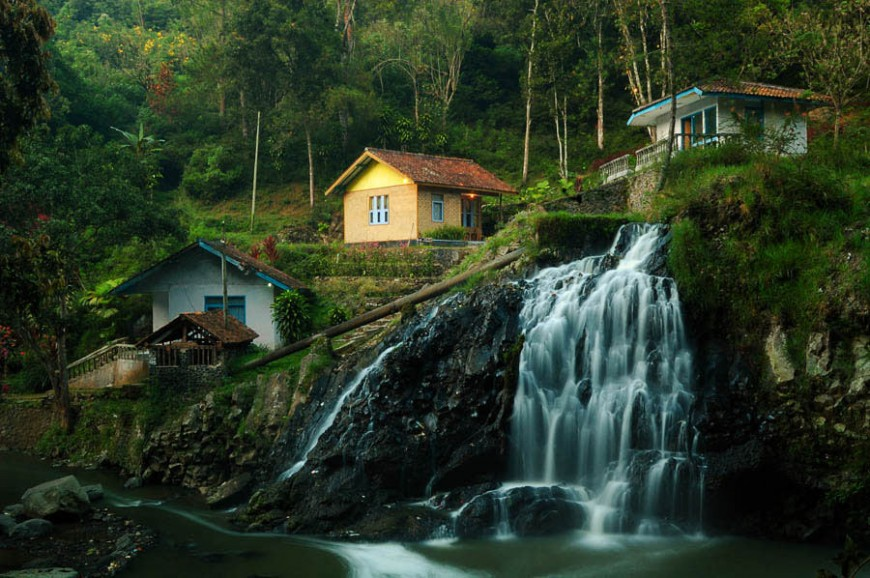 شلالات ماربيا باندونق اندونيسيا
