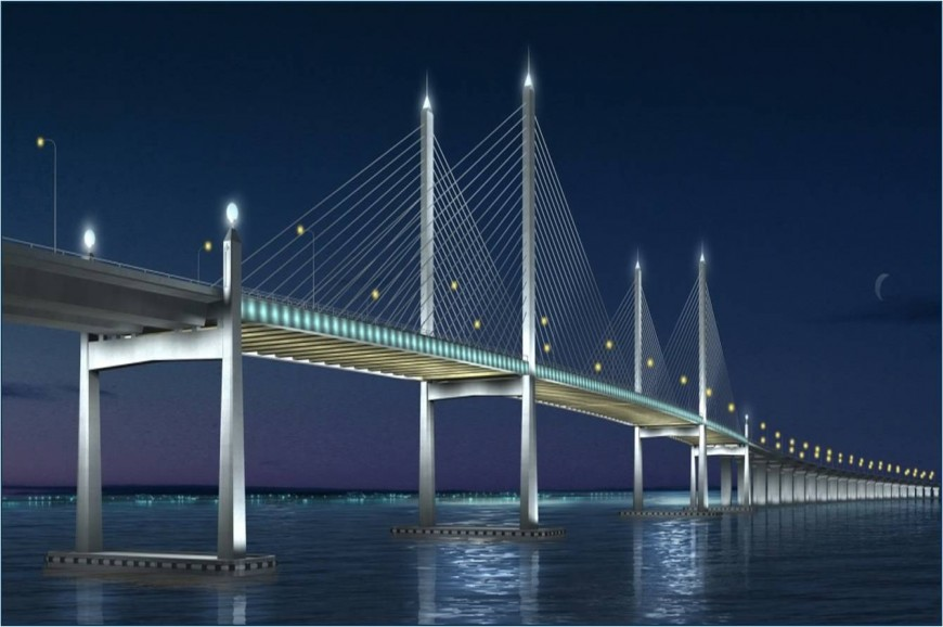 جسر بينانج ماليزيا