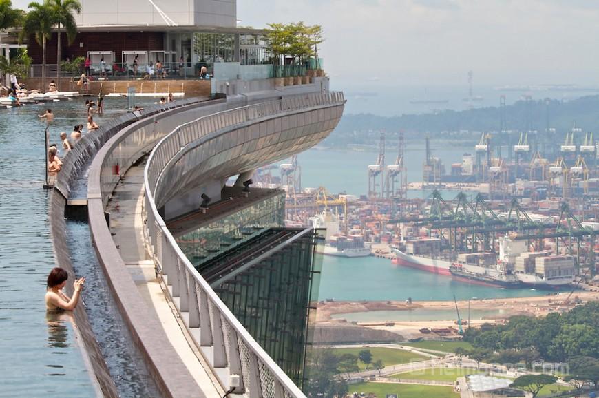 سكاي بارك في سنغافورة