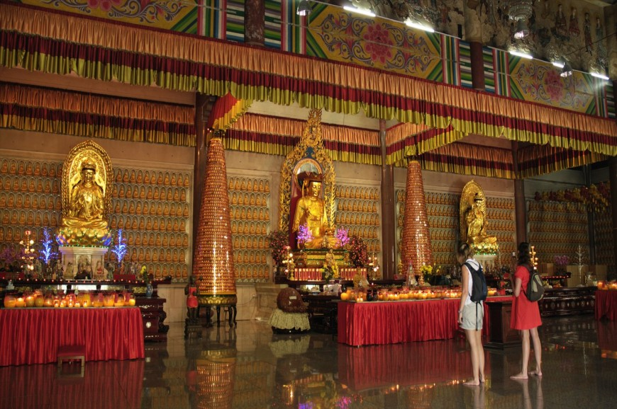 معبد بوذا النائم بينانج بماليزيا