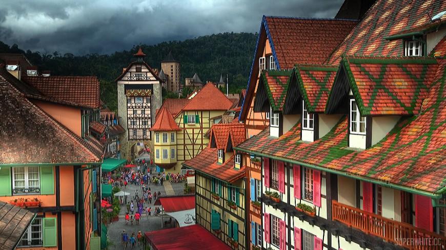 المدينة الفرنسية – بوكت تنجي