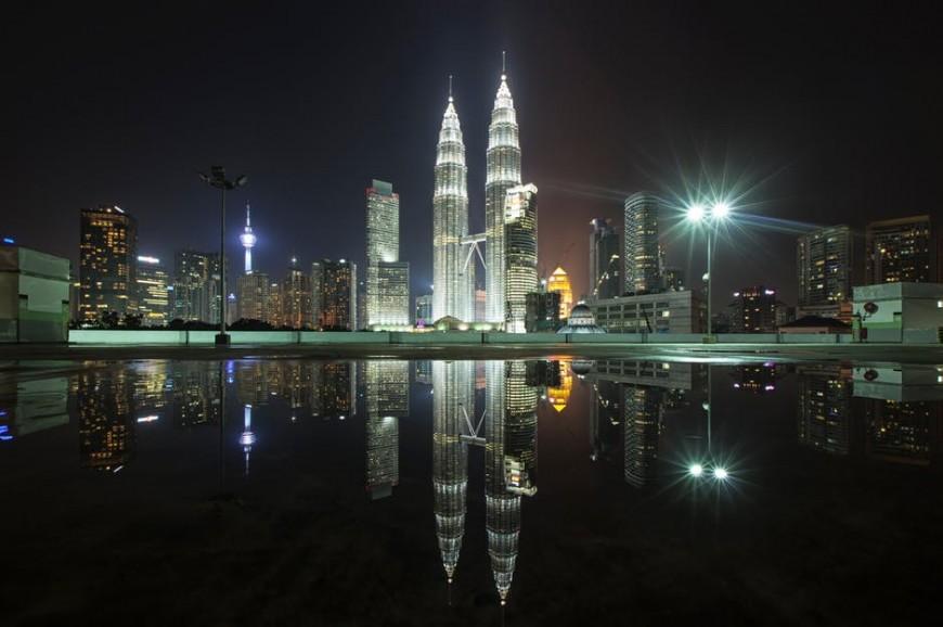 بُرجا بتروناس التوأم كوالالمبور ماليزيا