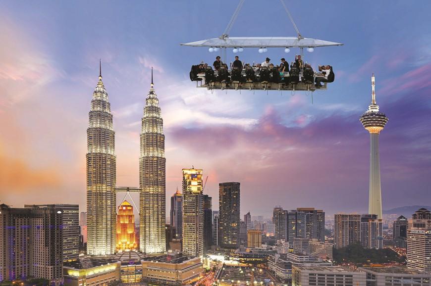 منارة كوالالمبور ماليزيا