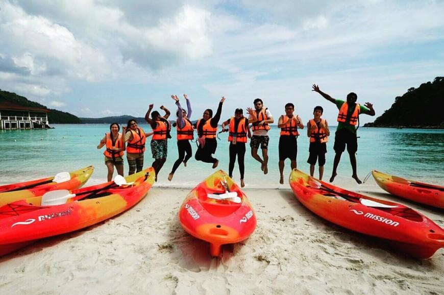 جزيرة بولاو برهنتيان ترينغانو ماليزيا
