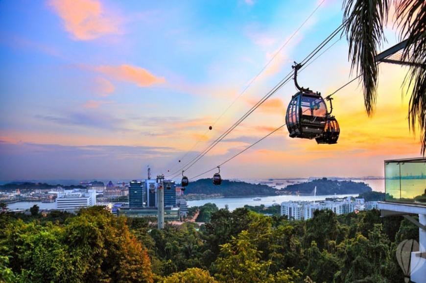 التلفريك في سنغافورة