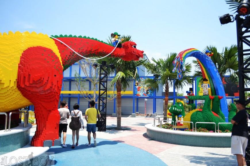 متنزه وملاهي ليغولاند في ولاية جوهور بماليزيا