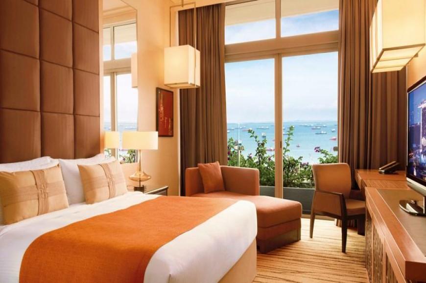 غرف فندق مارينا باي ساندس في سنغافورة