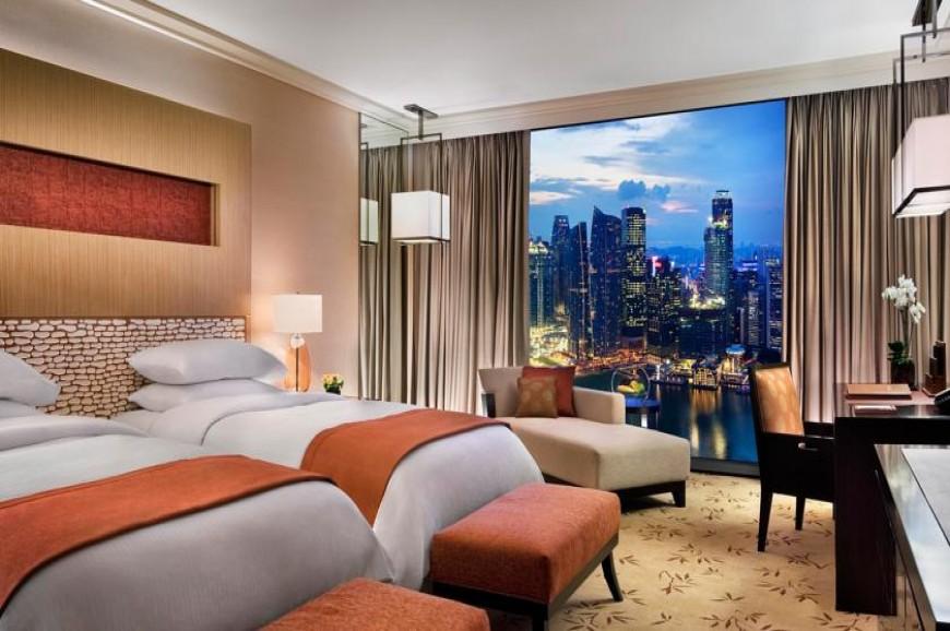 صور فندق مارينا باي ساندس في سنغافورة