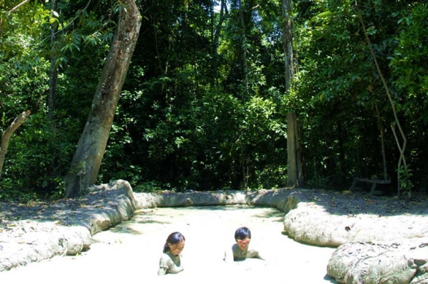 منتزه تيجا بارك في ولاية صباح ماليزيا