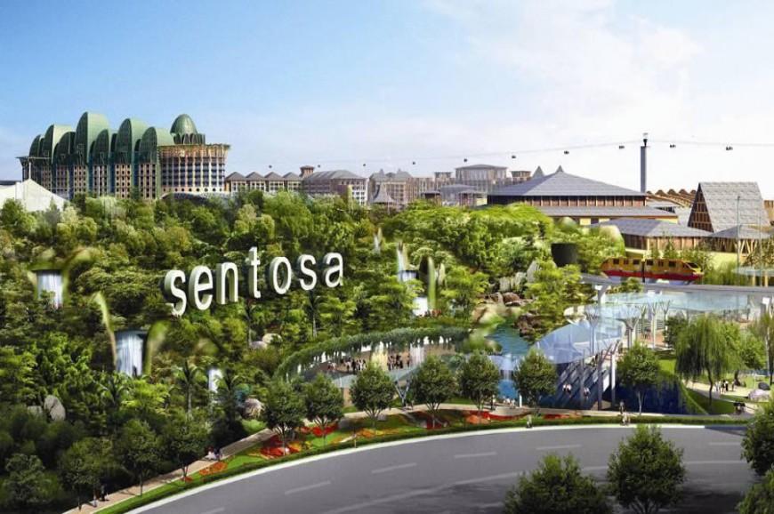 جزيرة سنتوسا في سنغافورة