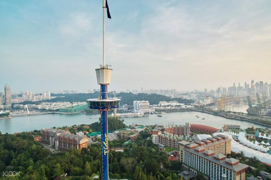 برج تايجر سكاى في سنغافورة
