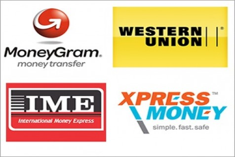 Conversion by fast money transfer companies