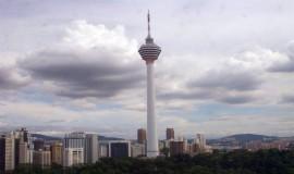 منارة كوالالمبور في ماليزيا