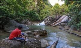 شلالات جزيرة بينانج ماليزيا