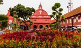 كنيسة المسيح في ملاكا بماليزيا