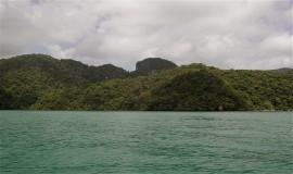 جزيرة العذراء الحامل في لنكاوي بماليزيا