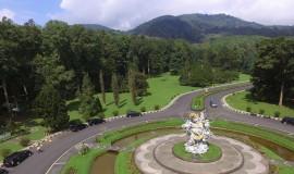 الحديقة النباتية في جزيرة بالي اندونيسيا