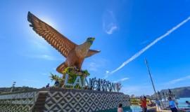 ميدان نصب النسر في لنكاوى ماليزيا