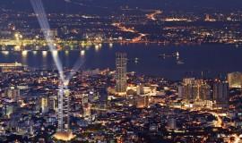 مدينة جورج تاون في جزيرة بينانج ماليزيا