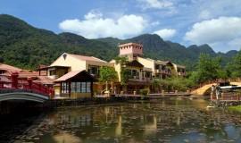 قرية الكتب الماليزية في لنكاوي بماليزيا