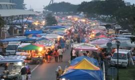 السوق الليلي تيمويونق لنكاوي ماليزيا