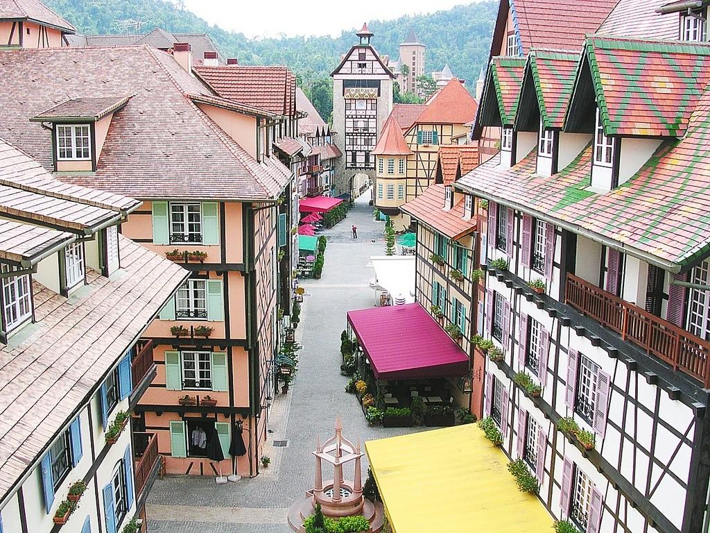 المدينة الفرنسية ماليزيا